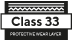 Class 33 protective layer